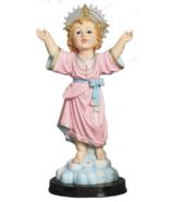 Divino Nino Jesus Christ Child 24 Inch Wooden Base Statue - $129.99