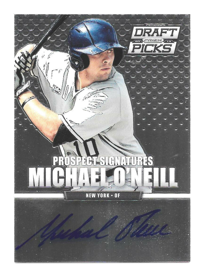 Primary image for 2013 Michael O'Neill Panini Prizm Draft Picks Rookie Auto - New York Yankees