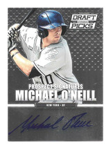 2013 Michael O'Neill Panini Prizm Draft Picks Rookie Auto - New York Yan... - $1.89