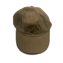 Iowa Hawkeyes TOW All Brown Womens Mens One Size Adjustable Strap Hat Cap EUC - $12.65