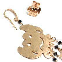 Drop Earrings 925 Silver, Crab, Mermaid, Little Seahorse Marine, le Favole image 3