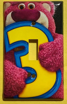 Toy Story Lotso Huggin Bear Light Switch Outlet wall Cover Plate Home Decor image 1