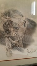 Original drawing INDIAN LISTED Jozef WALCZAK Poland Univ. Arts Poznan JW... - $199.00