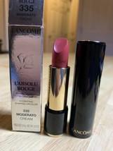 Lancome L' Absolu Rouge Lipstick 335 Moderato Cream Full Size BNIB - $23.75