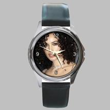 Round Metal Unisex Watch Highest Quality Monica Bellucci - $23.99