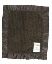 My Blankee Luxe Dark Brown Lovey & Security Blanket 14x16  B414 - $25.64 CAD