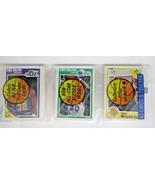 1989-90 FLEER Basketball Rack  KARL MALONE On Top CHARLES BARKLEY On Bac... - $16.15