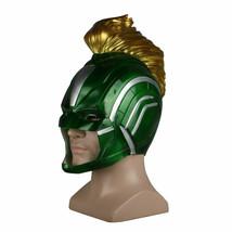 Captain Marvel 2019 Movie Mask Full Head Superhero Women Green Silver He... - $38.08 CAD