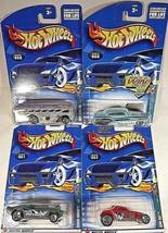 2002 Hot Wheels SPARES 'N STRIKES Series Full Set of 4 #59,60,61,62  See Details - $16.00