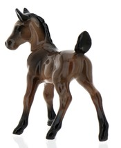 Hagen-Renaker Miniature Ceramic Horse Figurine Wild Mustang Colt Bay image 6