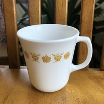 Corning Corelle Butterfly Gold D Handle Mug Mcm Vintage - $11.88