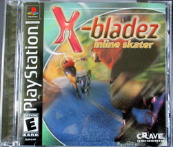 X-bladez: Inline Skater [PlayStation] Black Label Everyone ESRB Crave PS1 - $22.80