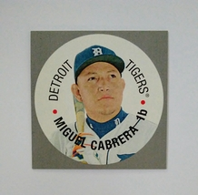 2015 TOPPS HERITAGE - DISC CARD - MIGUEL CABRERA - $1.29