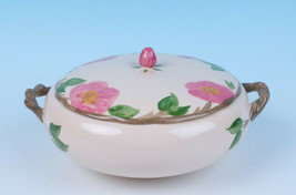 NEW Vintage Franciscan Desert Rose Round Covered Vegetable 1.5QT Serving... - $33.87