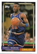 Basketball Card- Terrell Brandon 1992 Topps #69 - $1.25
