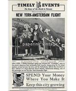 Gladys Swarthout Opera Singer Christens NY Amsterdam Flight 1946 Photo I... - $14.99