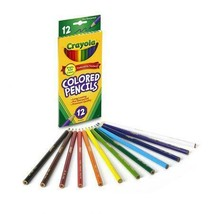 New Crayola Classic Colored Pencils 12 Count (Pack of 3) School Supplies - $9.99