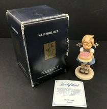 "Hummel Goebel 1988 Sweet As Can Be 4"" Figurine TMK-7 Hummel Club Edition... - $37.95"