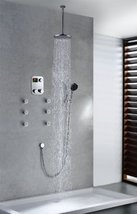 "Cascada Luxury Bathroom Shower Set with Luxury 12"" Shower Head (Ceiling Mount) R - $1,484.95"
