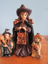 Boyds Bears Yesterdays Child Mallory w/Patsy & JB trick or treat - $19.60