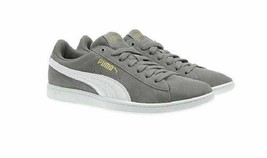 Puma Vikky Suede Women Casual Sneakers Size US 6.5 Grey Suede - $27.94