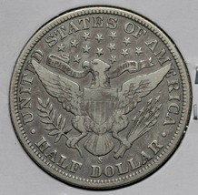 1901S Silver Barber Half Dollar 50¢ Coin Lot# A 613 image 2