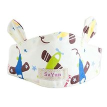 Beach Cap Empty Top Hat Summer Baby Hat Scarf Sun-Resistant Comfy Ventilate