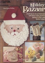 Holiday Bazaar, Leisure Arts Crochet & Knit Classic Holiday Designs Patterns 778 - $5.95
