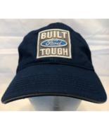 "Blue Built Ford Tough Baseball Hat Buffalo Logo ""ThinkFordNow.com"" (20-7) - $9.79"