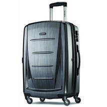 "28"" Expandable Spinner Luggage Hardside Light Rolling Suitcase TSA Lock ... - $164.33"