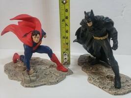 Schleich DC Comics Justice League Superman and Batman Statues - $14.01