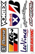 D094 Sponsor Sticker Decal Racing Tuning Size 27x18 cm / 10x7 inch - $3.49