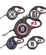 Detroit Tigers Retractable Dog Leash tangle free upto 110 lb pet leashes #2 - $22.30+
