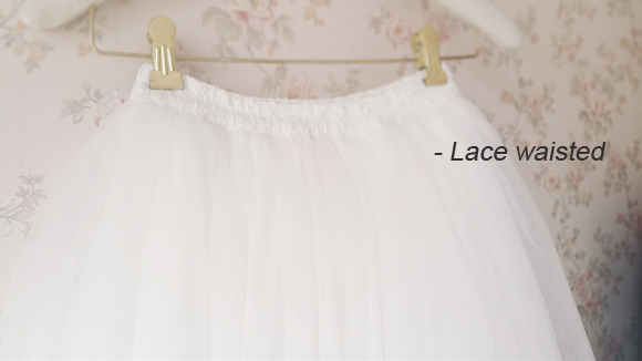 White Lace Tulle Maxi Skirt White Wedding Lace Tulle Skirt A Line Tool Skirt NWT