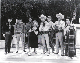 "Roy Rogers Dale Evans  & The Sons of The Pioneers  8""X10"" Black & White ... - $4.90"