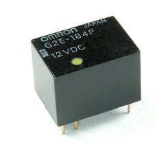 1pc Omron Relay 12vdc DPST G2E-184P - $8.58