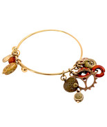 Treska Spice Market Adjustable Floating Charm Bangle Bracelet - $15.90