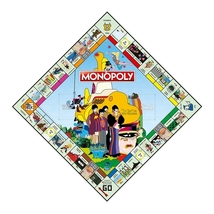 Beatles Yellow Submarine MONOPOLY Board Game RARE OOP Sgt. Pepper's Pepperland  image 3