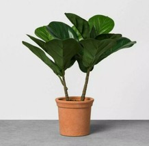 Hearth & Hand with Magnolia Faux Fiddle Leaf Fig Plant In Teracotta Pot  - $28.84
