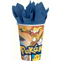 Pokemon Diamond & Pearl Paper Cups 8 Per Package Birthday Party Supplies... - $4.90