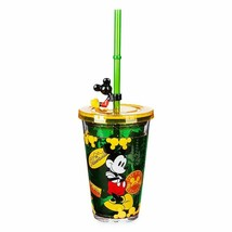 Disney Store Mickey Mouse Pluto Tumbler with Straw Small  2021 New - $34.95