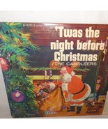 "Twas the Night Before Christmas The Caroleers Record 33 RPM 12"" Diplomat - $9.99"