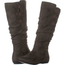 Cliffs by White Mountain Felisa Flat Knee-High Boots 107, Brown, 6.5 US - $25.91