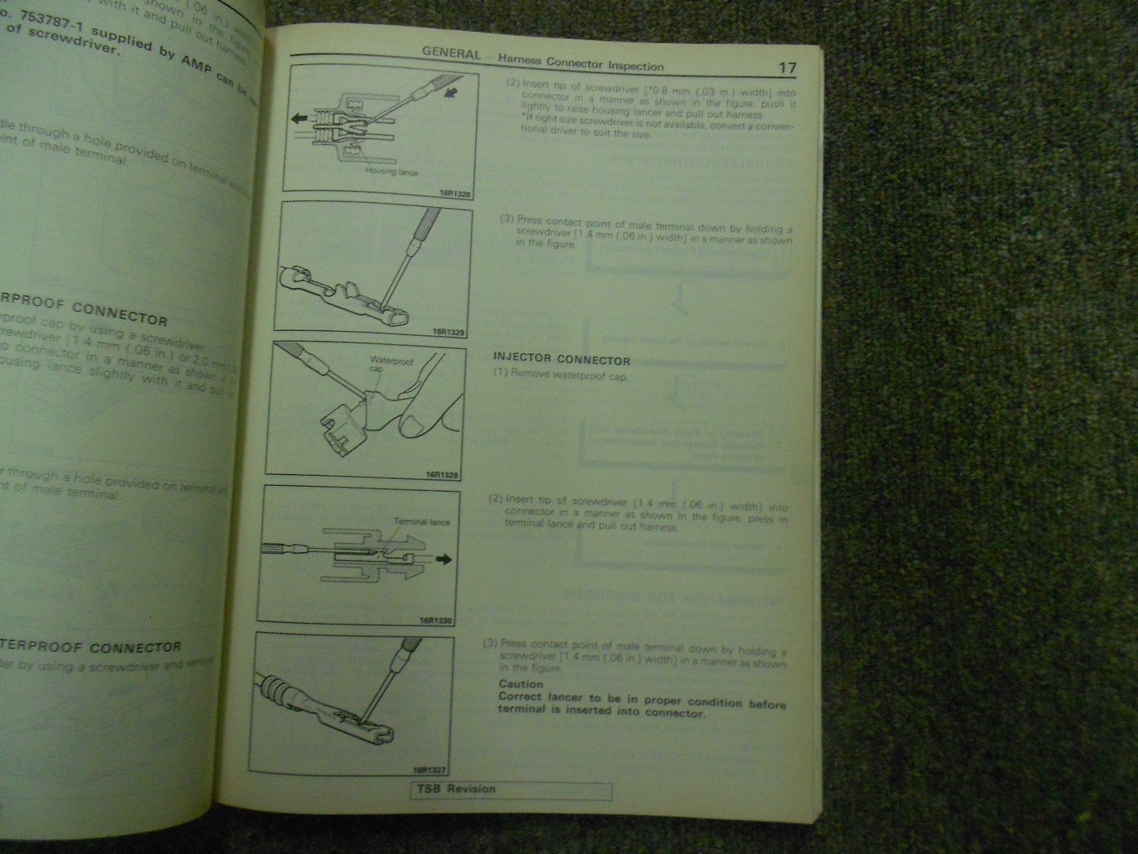 1992 1996 MITSUBISHI TRUCK Service Reoair Shop Manual VOLUME 2 FACTORY OEM 92 96 image 10
