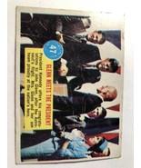 VTG 1963 Popsicle Space Card #47 JFK president Kennedy & Glenn Card - $44.55