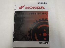 1981 1982 1983 honda silver wing silverwing gl500 650 repair service new - $118.75