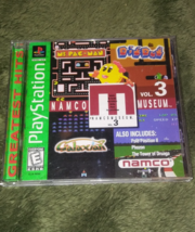 Namco Museum Vol. 3 (Sony PlayStation 1, 1996) - $5.95