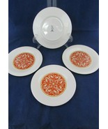 "(4) Vintage 1970's Royal Doulton Seville TC1085 Salad/Dessert Plates 8"" in VGC - $39.59"