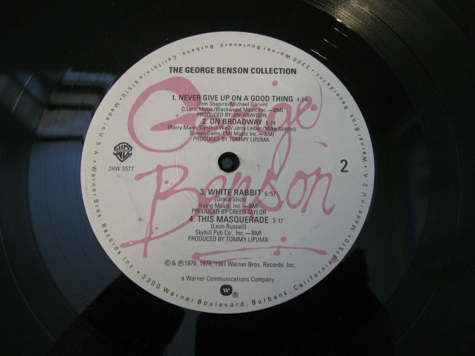 The George Benson Collection Warner Bros 2HW 3577 Stereo Vinyl Record LP Album image 6