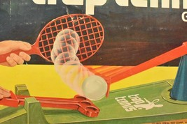1975 Trap Tennis Game IDEAL Complete - £31.41 GBP